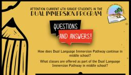 Dual Language Immersion Pathway- Middle School Interest Form